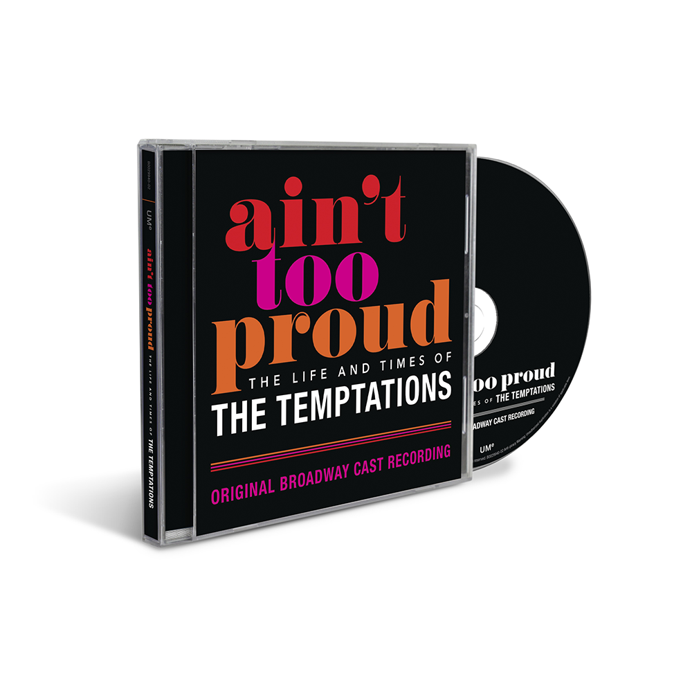 The Temptations Ain't Too Proud CD